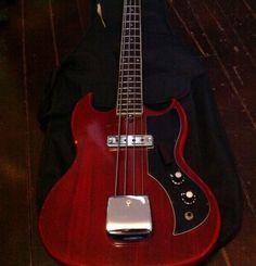 Cool Bass Guitars | Canadian Vintage Guitar Hunt: Vintage KAY K-1B Electric Bass