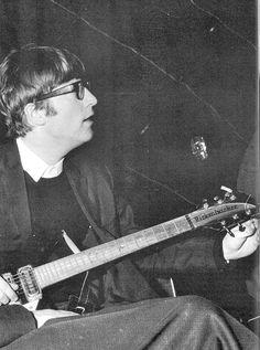 John Lennon(9 October 1940 - 8 December 1980), 1964. S)