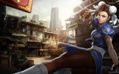 WALLPAPERS HD: Street Fighter Chun Li