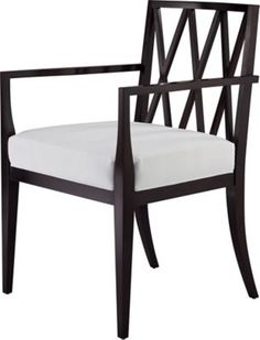 The Mondetour Side And Arm Chairs Have A Sleek Wood Frame Upholstered Seat For