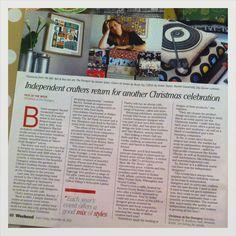 Ella Doran interview in the Bristol Post 14.12.12