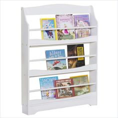 Lowest price online on all Guidecraft Expressions Bookrack in White - G87107