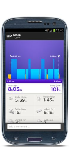 Exercise & sleep tracking UP by Jawbone | Know yourself. Live better.