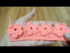How To Crochet Flower Stitch - Tutorial - ilove-crochet