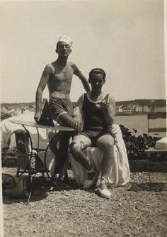 SALVADOR DALI....AND FEDERICO GARCIA LORCA....IN CADAQUES....SPAIN....BING IMAGES.....