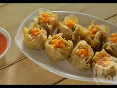 How to make siomay, a familly recipe of Tjai Liem Hiong Steam Recipes, Pork Recipes, Asian Recipes, Vegetarian Recipes, Chicken Recipes, Snack Recipes, Cooking Recipes, Recipies, Siomai