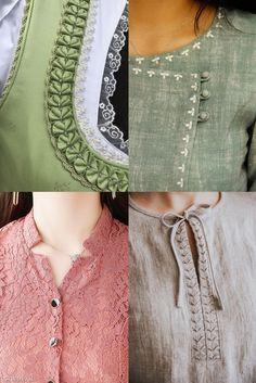 Chudi Neck Designs, Neck Designs For Suits, Neckline Designs, Sleeves Designs For Dresses, Fancy Blouse Designs, Stylish Dress Designs, Blouse Neck Designs, Kurti Back Neck Designs, New Kurti Designs