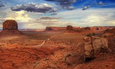 Desert Landscape  Photo by Wolfgang Staudt
