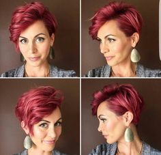 Love the volume of the pixie.