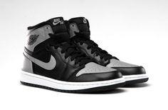 the best attitude e42f3 7d7e7 Air Jordan Shadow Grey 1 s Air Jordan Sneakers, Grey Sneakers, Nike Air  Jordans,