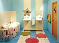 salle de bain enfant on pinterest kitsch kid bathrooms