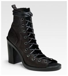 Ann Demeulemeester shoes are fabulous!