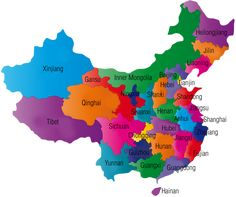 Colorful+China+Map+with+Provinces.png 1,600×1,342 pixels