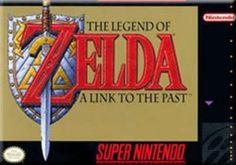 Legend of Zelda:A Link to the Past - Super Nintendo Game