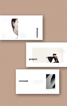 Minimal Presentation Template #ppt #powerpoint #keynote #presentation #template #pitchdeck #portfolio #minimalist #layout #clean #zero #slide #business #simplep #AD