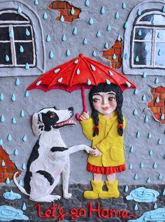 Посмотреть иллюстрацию Валерия Камелькова - Постер для фонда Lapa. для благотворительного фонда помощи бездомным животным