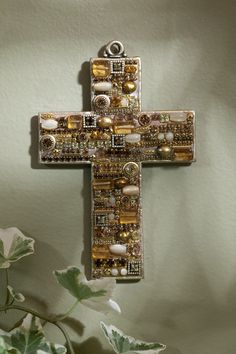 Citrine Gemstone Wall Cross – Celebrate Faith