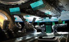 spaceship bridge - Google Search