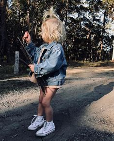 Baby Girls look Fashion Kids, Little Kid Fashion, Toddler Fashion, Toddler Outfits, Kids Outfits, Girl Fashion, Baby Outfits, Fashion Games, Future Mom