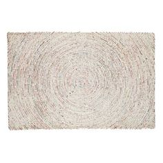 Love the subtle colours in this ripple effect rug from Land of Nod