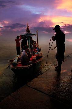 Phetchaburi Sunset - Thailand