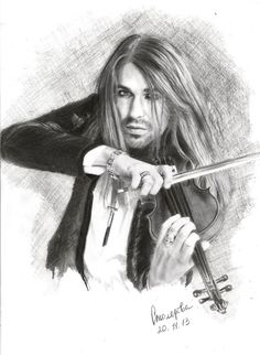 Рисуем Дэвида |