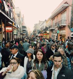 """People are just people. They shouldn't make you nervous. #mardigras2016 #mgbeings2016 #followyournola #alwaysneworleans #showmeyournola #neworleans #Nola #nolaevents #mardigrasday #frenchquarter #bourbon #bourbonstreet by ces_arevalo"