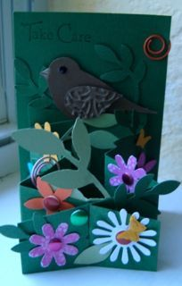 nature cascading card