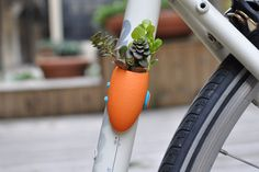 Bike plants. Because biking everywhere is just not green enough.