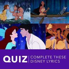 Do you know all the lyrics to your favorite Disney songs?