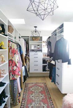Step Inside the Dreamy Walk-In Closet of Entertainment Tonight's Keltie Knight (MyDomaine) Declutter Your Home, Organizing Your Home, Organizing Tips, Organising, Dressing Room Closet, Luxury Closet, Custom Closets, Walk In Closet, Attic Closet