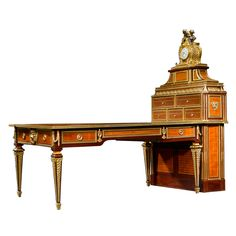 Important Sormani Partner's Desk and Matching Cartonnier
