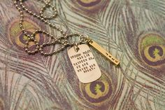 Hand Stamped Jewelry by Kayce Jones Designs