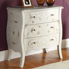 Acme Furniture Issa Bombay Chest in White