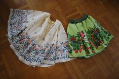 365 saker du kan slöjda » #993 Sy en helklockad kjol på en kvart!