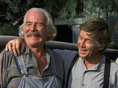 The Waltons, Ralph Waitre recently passed away, here he is with Grandpa Walton.