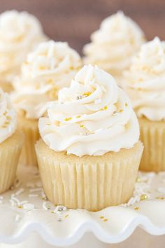 These vanilla cupcakes are the perfect soft and fluffy vanilla cupcake! I have done a lot of testing and am proud to say that I finally have my favorite version to share with you! I'm quite picky about vanilla cupcakes. You can't get by with a mediocre one, you know? They might be one of …