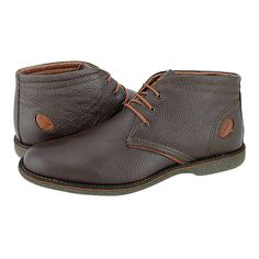 Lieren - GK Uomo Comfort Men's low boots made of leather with leather lining and synthetic outsole.