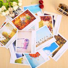 10 unids/lote vintage mini postal LOMO tarjeta de agradecimiento tarjeta de cumpleaños tarjeta de felicitación de papel de tarjetas de regalo 11*9 cm(China (Mainland))