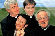 Father Ted ( BBC)  Fathers Ted Crilly, Dougal McGuire and Jack Hackett are the inept priests of Craggy Island, banished from the mainland in various circumstances Hysterical.....