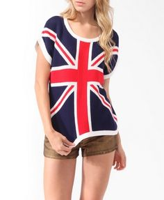 british flag sweater