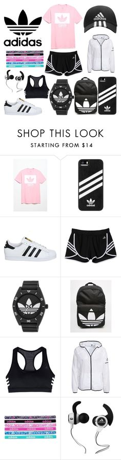 """Adidas"" by ale-needam on Polyvore featuring adidas, Monster and sporty"