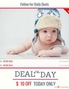 Today Only! {{discount}} this item. Follow us on Pinterest to be the first to see our exciting Daily Deals. Today's Product: {{productName}} Buy now: {{campaignUrl}} https://orangetwig.com/shops/AABfQGL/campaigns/AAB5qfT?cb=2016001&sn=scoopster7&ch=pin&crid=AAB5qfB&exid=232984639
