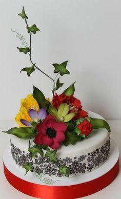 Torturi - Viorica's cakes: Flori pentru Maria