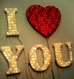 Say 'I Love You' in lights!