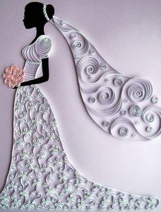Spectaclar Paper Quilling Craft! More here :