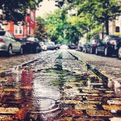 """Rain & Rails"" by Milli Mike on Flickr - O Street NW, Georgetown, Washington, DC"