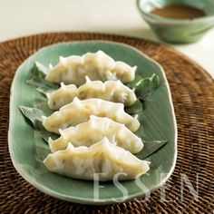 Gyuasang 규아상: Korean sea cucumber shaped dumpling, a summer dish that originated from the royal court of the Joseon Dynasty