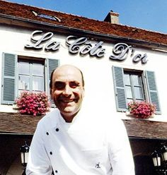 Bernard Loiseau's famous Rest in Saulieu  it was a 3 star when I had the pleasure. Sad Chef Loiseau has passed away. This was the inspiration for the Disney movie Ratatouille!