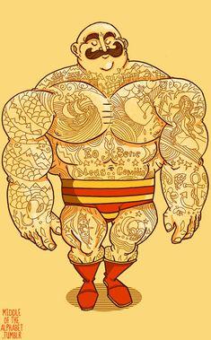 ✯ Strongman Tattooenthusiast. And jolly. That too. :: Artist Artist Jeremy Owen ✯